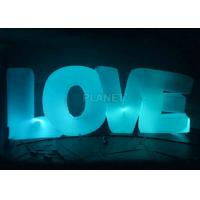 Best Wedding Inflatable Lighting Decoration Love Led Letter Balloon For Stage wholesale