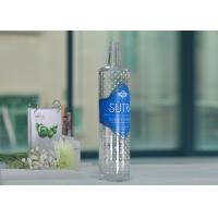 Best Soda Lime 700Ml Large Glass Wine Bottles Clear With Decal Printing wholesale