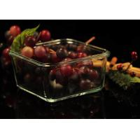 Best Recyclable Borosilicate Airtight Microwave Safe Glass Bowl Heat Resisting wholesale