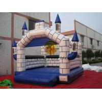 Best 5*5*4m Inflatable Fireproof Castle Bouncer Custom For Kids wholesale