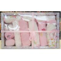 China Pure Cotton New Born Baby Baptism Gift Sets with Baby Wear and Socks, Infant Garments on sale