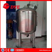 Best Sanitary Stainless Steel Mixing Tanks Heat Preservation Magnetic Agitator Dense wholesale
