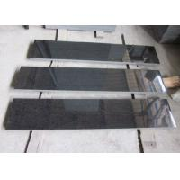 Best G684 Granite Outdoor Natural Stone Tile / Black Basalt Tile For Building Project wholesale
