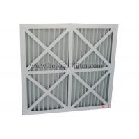 Best High Capacity DustPleated Panel Air Filters Folding Primary Air Filter G4 wholesale