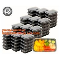 Best Food grade plastic disposable plastic take away bento box with 4 compartment,Containers Plastic Leakproof Food Container wholesale