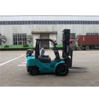 China Automatic Transmission Lp Gas Forklift Unloading Truck Dual Front Tires on sale