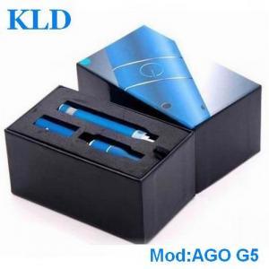 Best Classical dry herb vaporizer e cig AGO G5 650mah LCD eGo battery ecigator ecig wholesale