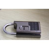 Best Fingerprint biometric padlock used in school locker, gym locker, gun cabinet wholesale