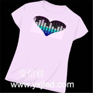 Best EL lighting t-shirt wholesale