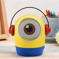 Best Minions JYWT Creative Bluetooth Speakers Hands Free MP3 Player MIC TF USB Toy wholesale
