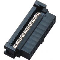 Buy cheap 20 pin 2.00mm IDC Socket Connector Female With Bump PBT Phosphor Bronze Sel Au from wholesalers
