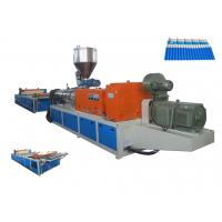 Best 2016 New Plastic PVC Roofing Sheet Making Machine / Plastic Sheet Extruder  For Workshop , Warehouse wholesale