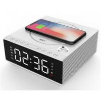 Best DIY 4.2 Creative Bluetooth Speakers With Mobile Phone Wireless Charger / Alarm Clock wholesale