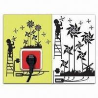 Best Switch Socket Decoration, Removable and Easy-to-use, Measures 15 x 24cm wholesale