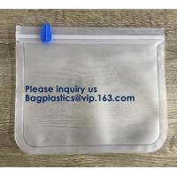 Buy cheap Seal Reusable PEVA Storage Bags ideal For Food Snacks, Lunch Sandwiches, Makeup from wholesalers