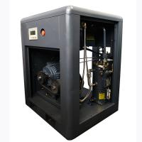 China 15HP 11KW Motor Silent Rotary Screw Air Compressor with Belt drive Drive way on sale