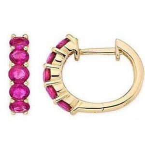 Best Ruby earring wholesale