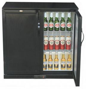 Best Electronic Digital Two Door Back Bar Cooler / Commercial Bar Refrigerator wholesale