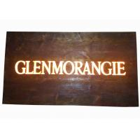 Best Custom Resin Illuminated Wooden Signs , Wall Mounted Personalized Bar Signs wholesale