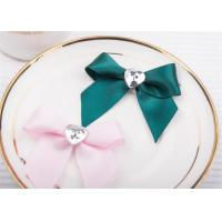 Best Decoration Tie Satin Ribbon Bow Washable Home Textile With Dyeing wholesale