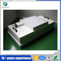 Buy cheap China best service clean room 2*4' low noise hepa FFU fan filter unit from wholesalers