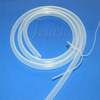 Cheap FDA Approved Clear Silicone Pipe , High Temperature Food Grade Tubing Harmless for sale