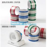 Easy Opened Peel Off Tear Tape For Book Highlight,Easy Tear Clear Tape with