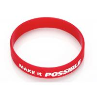 Best Sports Silicone Wrist Band Emboss Printed Custom Silicone Rubber Wristbands wholesale