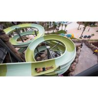 Best Water Park Construct Fiberglass Open Spiral Sports Playground Equipment Slide For Adult wholesale
