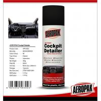Cheap Aeropak Automotive Dashboard Wax Spray Protective For Leather / Plastic / Rubber for sale