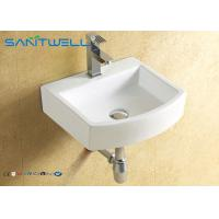 Best Ceramic Wall Hung Wash Basin for Bathroom 395*375*110 mm , wall mount sink wholesale