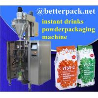 Best Big plastic pouch drinks powder forming filling sealing packaging machine wholesale