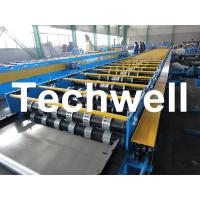 Best Galvanized Steel Floor Deck Roll Forming Machine For Floor Decking Sheets wholesale