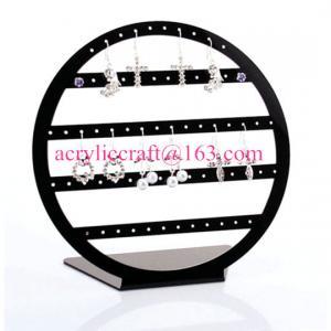 Best POP acrylic jewelry display stand plexiglass earring display rack wholesale