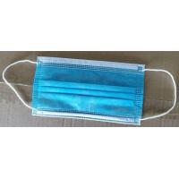 Best 3 layer non-woven fabrics Disposable Protective Face Mask( center is Melt-Brown fabric) wholesale