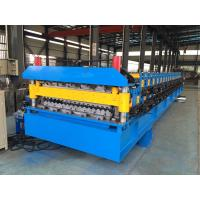Quality IBR Roof Sheeting Double Layer Roll Forming Machine 0.4mm - 0.8mm Q230-550 wholesale