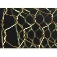 Best Rugged Decorative Concertina Hexagonal Wire Mesh Cooper Brass Twist Anti Oxidation wholesale