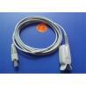 Buy cheap Palco Spo2 Sensor Probe , Soft Tip / Spo2 Finger Probe 3m Cable Length from wholesalers
