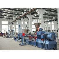 Best TPV TPR Thermoplastic Plastic Pellet Extruder 300-400kg/H / Water Ring Cutting System wholesale