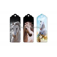 Cheap Customized Special Shape 3D Lenticular Bookmark Flip Changing Effect Image for sale