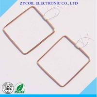Cheap Electronics Copper Rfid Reader Coil , Radio Frequency Coils For Key Card Tags for sale