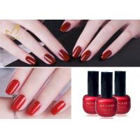 Best Lacquer Varnish Enamel UV LED Gel Nail Polish / Soak Off Color Gel wholesale