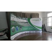 Best 10Ft Aluminum Stand Tension Fabric Displays , affordable booth displays for trade shows wholesale