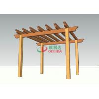 Best High Grade Home Depot Cedar Pergola Kits , Weather Resistant Custom Pergola Kits wholesale