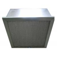 Cheap Disposable Hospital Hepa Room Air Filters , Pharmacy Deep Pleat Hepa Filter for sale