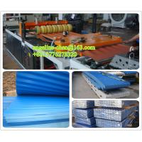 Best plastic PVC multilayer wave roof tile buidling/roofing material wall panel production line wholesale
