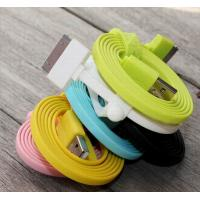 Best IPORS Flat Micro USB Cable 1 Meter IPhone USB Charger Cable For iphone 5 wholesale
