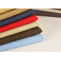 Best Garment Washed Canvas Fabric / Heavy Cotton Fabric Tear - Resistant wholesale