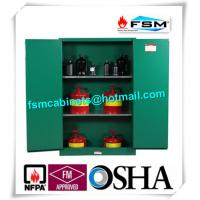 Best Fireproof 45 Gallon Hazardous Storage Cabinets Adjustable Shelf For Storing Dangerous Goods wholesale