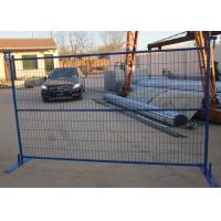 Best Powder Coating Steel Canada Temporary Fencing , Welded Wire Fence Panels wholesale